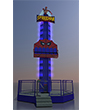 GRAFFITI  Rotating Tower 10 m
